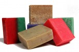 Soaps with Essential Oils.